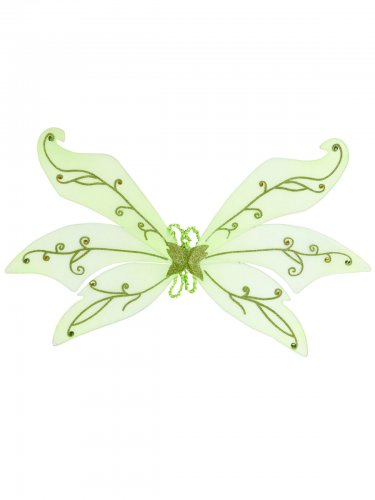 Groene feeën vleugels
