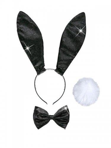 Zwarte konijn set voor vrouwen-1