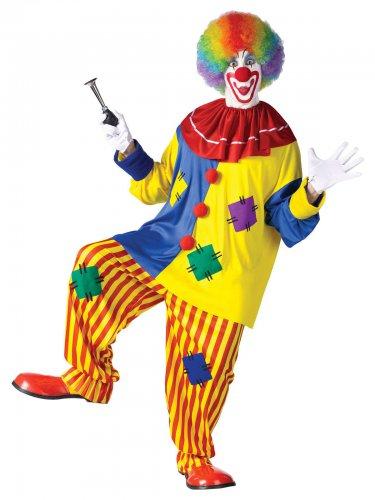 Rode clown kostuum voor volwassenen