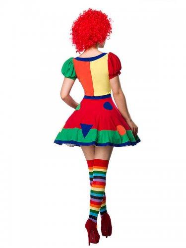 Circus clown kostuum voor dames-1