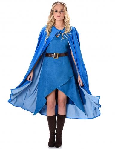 Middeleeuwse strijder kostuum voor vrouwen