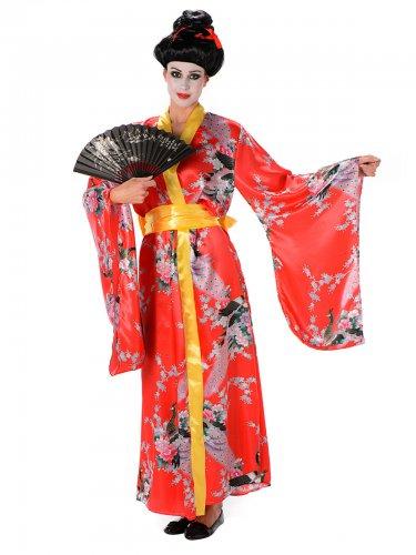 Japans geisha kostuum voor vrouwen