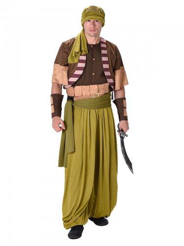 Woestijn strijder kostuum voor mannen