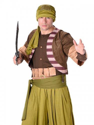 Woestijn strijder kostuum voor mannen-1