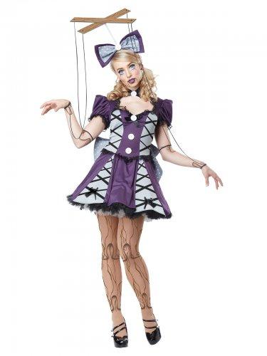 Marionet pop kostuum voor vrouwen