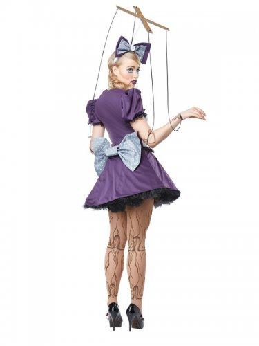 Marionet pop kostuum voor vrouwen-1