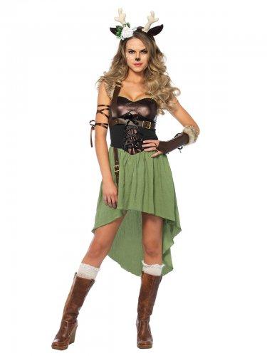 Bos ree kostuum voor vrouwen
