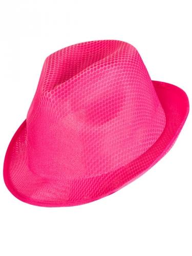 Roze met witte hoed voor vrouwen-1