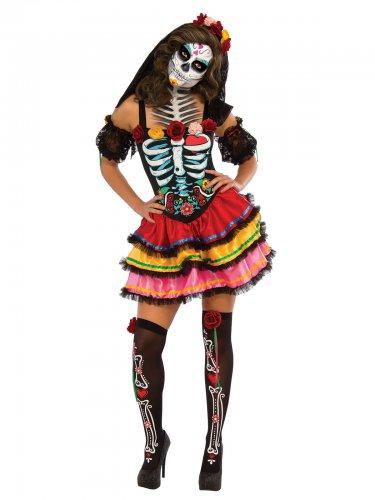 Dia de los Muertos kostuum voor vrouwen