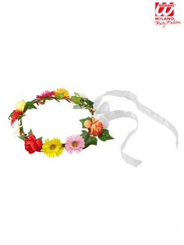 Hippie bloemen hoofdband-1