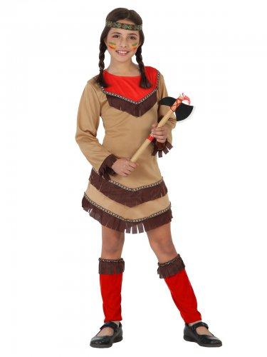 Wilde Westen indianen kostuum voor meisjes
