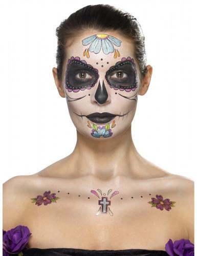 Dia de los Muertos schmink set voor vrouwen