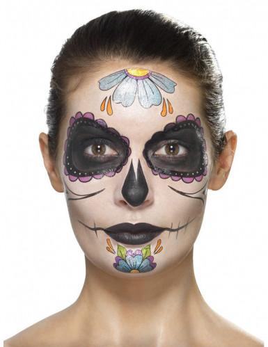 Dia de los Muertos schmink set voor vrouwen -1