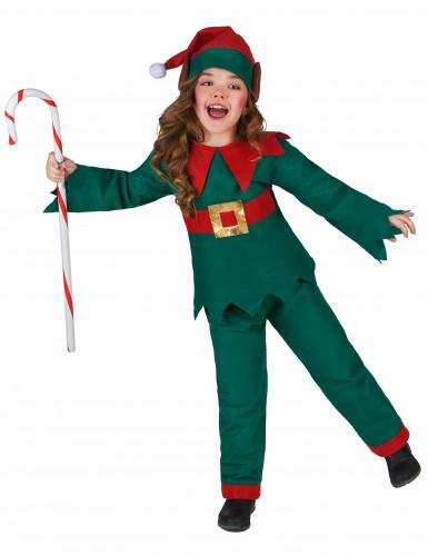 Kerstelf outfit voor kinderen-1