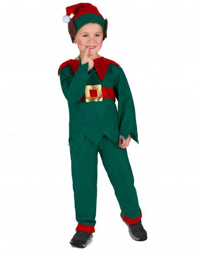 Kerstelf outfit voor kinderen-2