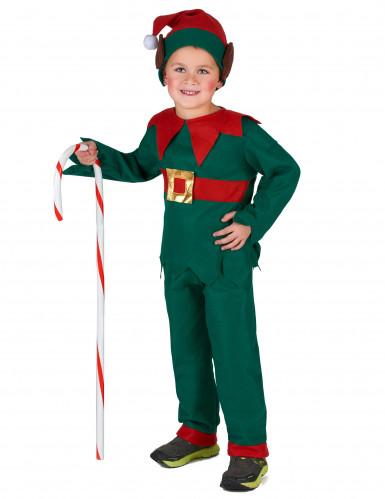 Kerstelf outfit voor kinderen-3