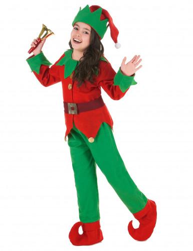 Kerstelf kostuum voor kinderen-1