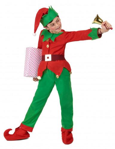 Kerstelf kostuum voor kinderen-2
