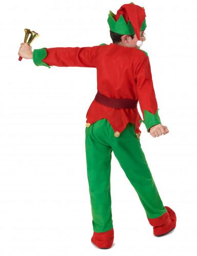 Kerstelf kostuum voor kinderen-3