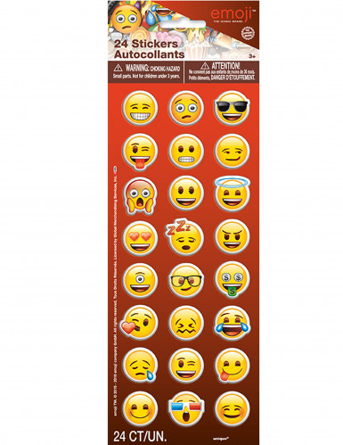 Stickervel met 24 Emoji™ stickers