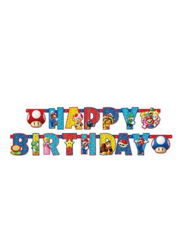 Happy Birthday Super Mario™ slinger