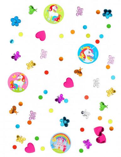 Eenhoorn regenboog confetti