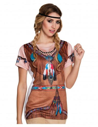 Indiaan t-shirt voor vrouwen