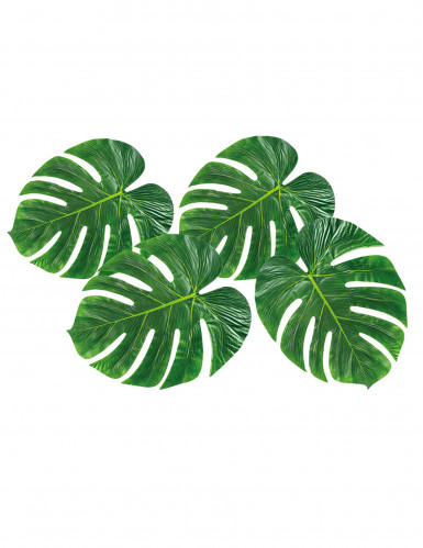 4 palmboom bladeren placemats