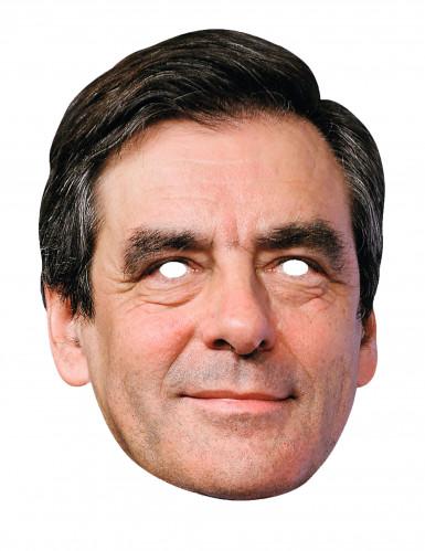 Kartonnen François Fillon masker