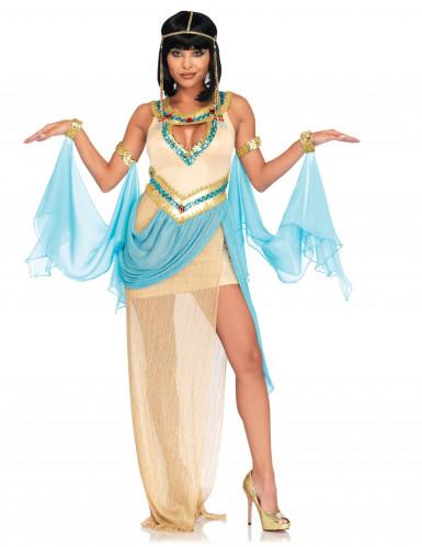 Sexy Egyptische koningin kostuum voor vrouwen