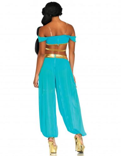 Sexy blauw sprookjes prinses kostuum voor vrouwen-1