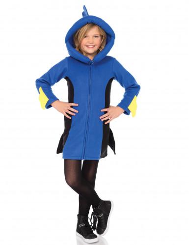 Blauw vissen kostuum voor kinderen