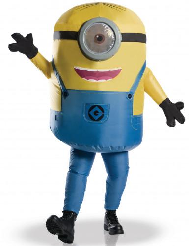 Opblaasbare Minions™ kostuum voor volwassenen