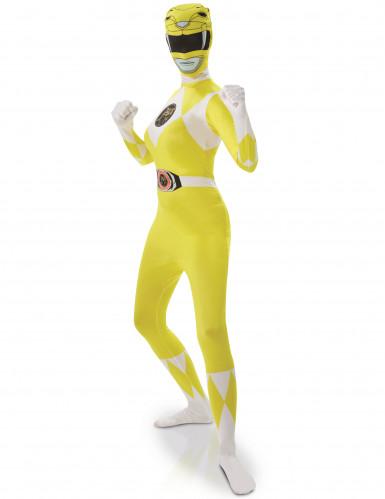 Geel Power Rangers™ kostuum voor vrouwen