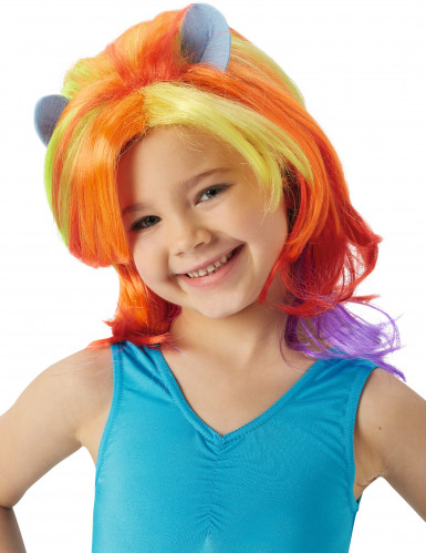 My Little Pony™ Rainbow Dash™ pruik voor meisjes