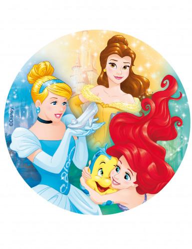 Eetbare Disney Prinsessen™ ouwel taartdecoratie 20 cm