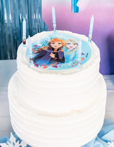 8 Frozen™ verjaardagskaarsen-1