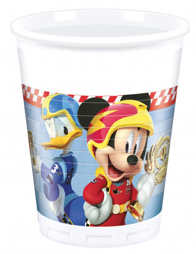 8 Mickey & Donald Racing™ bekers