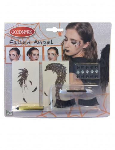 Make up set zwarte engel voor vrouwen