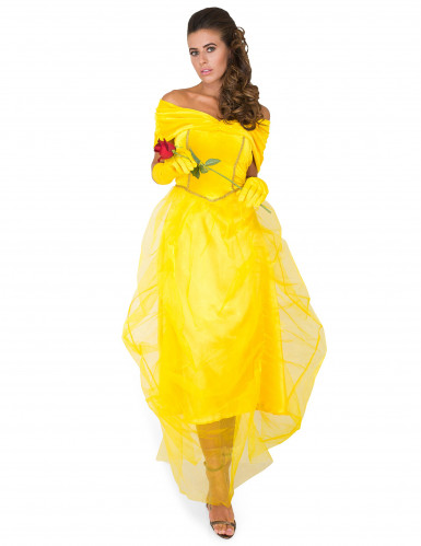 Gele prinses kostuum voor vrouwen-1
