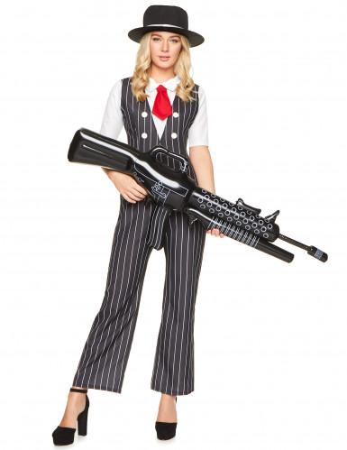 Gangster mafia kostuum voor vrouwen-1