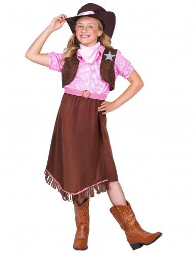 Sheriff kostuum voor meisjes