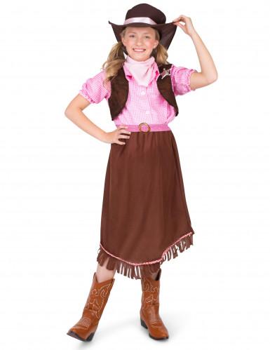 Sheriff kostuum voor meisjes-1