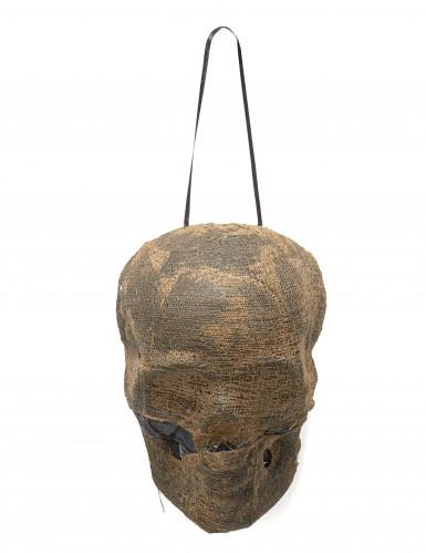 Lichtgevende mummie schedel decoratie