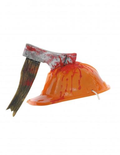 Bloederige bijl helm voor volwassenen