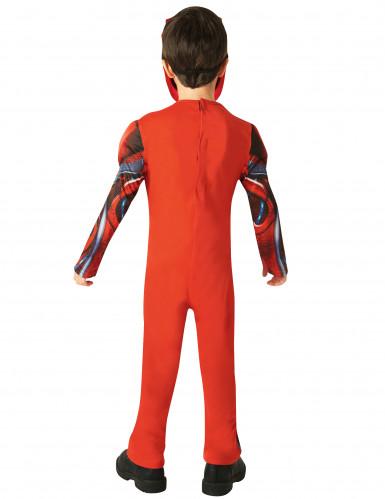 Luxe rode Power Rangers™ kostuum voor kinderen-2