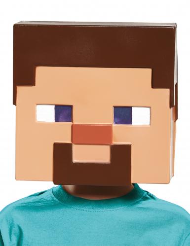Steve Minecraft™ masker voor kinderen