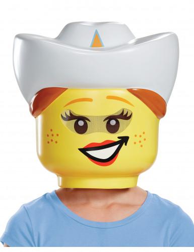 Lego® cowgirl masker voor kinderen