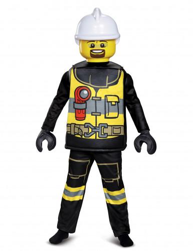 Deluxe Lego® brandweer kostuum voor kinderen