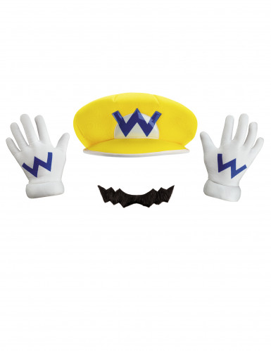 Wario Nintendo® set voor volwassenen